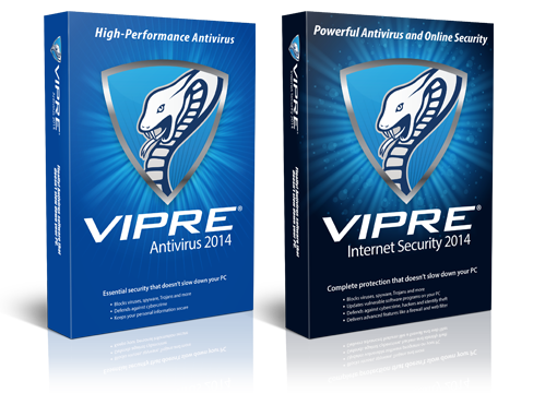 VIPRE Internet Security and VIPRE Antivirus